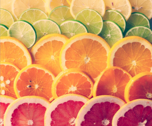 color, lemon, and food image