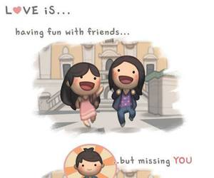 love, friends, and couple image