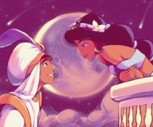 disney, aladdin, and love image