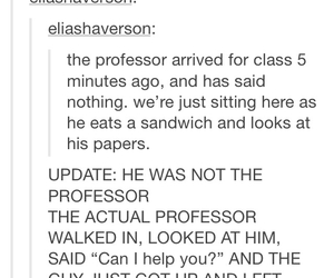 funny, tumblr, and college image