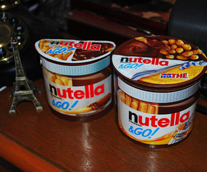 nutella, food, and yummy image