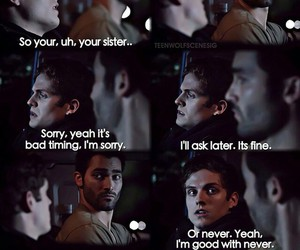 teen wolf, derek hale, and isaac lahey image