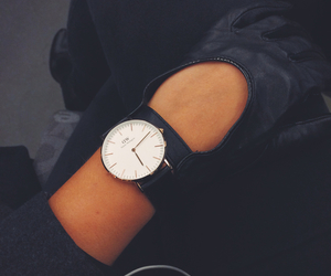 watch, black, and style image