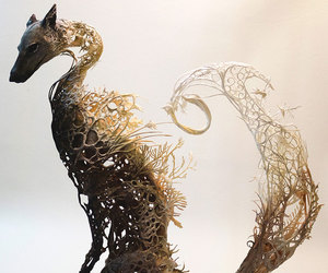 animal, art, and sculpture image