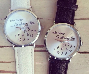 watch, fashion, and Late image