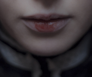 blood and lips image