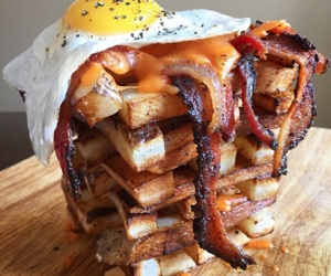 bacon, cheese, and omg! image