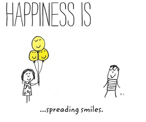 smile, happiness is, and cute image