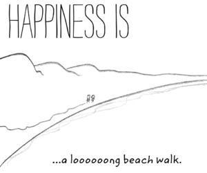 beach, long, and ocean image
