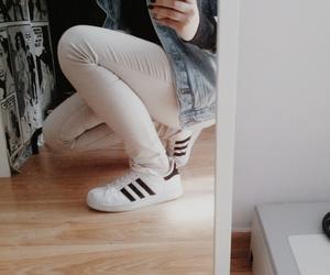 adidas, bedroom, and black image