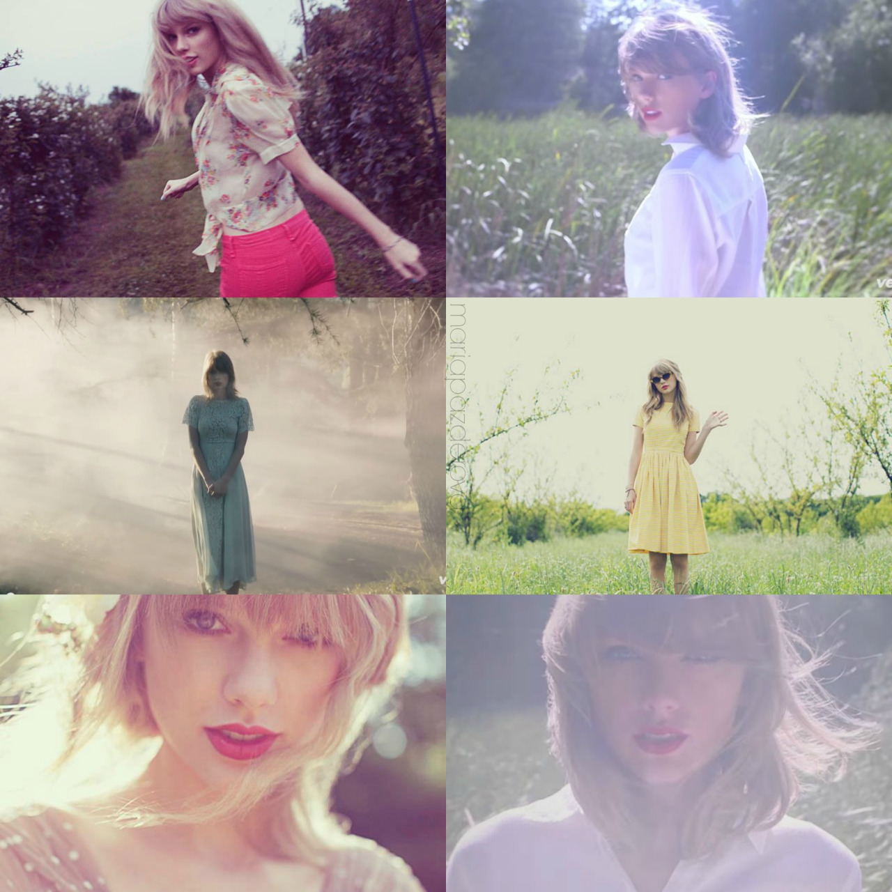You Can Call Me Ria Taylorswift Red Album Art Style Music Video Via Tumblr