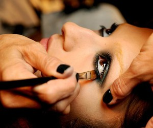 make up, model, and makeup image