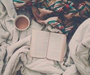 beautiful, read, and bed image