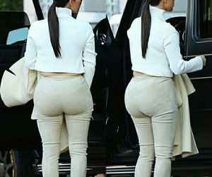 butt, caucasian, and curves image