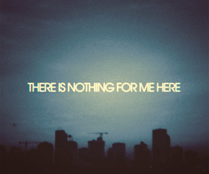 nothing, city, and text image