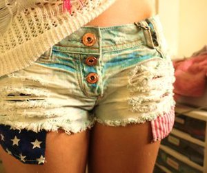 america, legs, and shorts image
