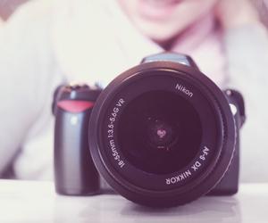 camera and heart image