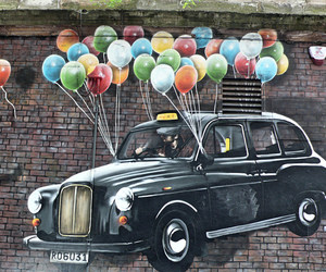 balloons, bricks, and colour image