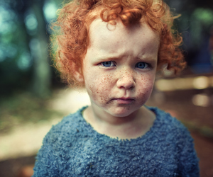 child, freckles, and kids image
