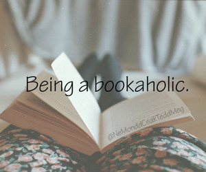 book, bookaholic, and bookworm image