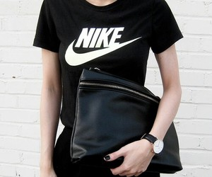 nike and black image