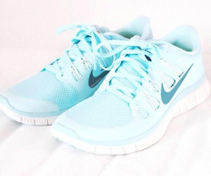 blue, shoes, and inspiration image