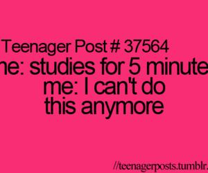 study and teenager post image