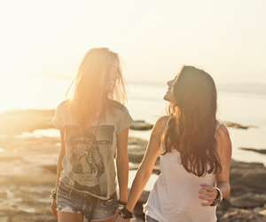 cute, lesbian, and friends image