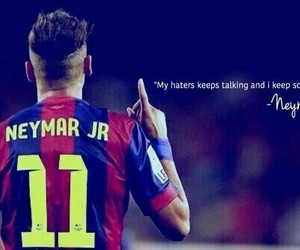 neymar, 11, and Barca image