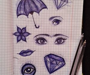 art, bored, and diamond image
