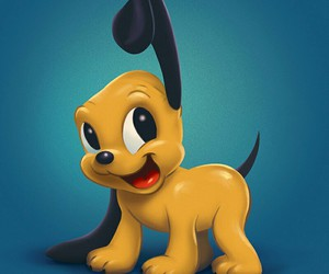 pluto and puppy image