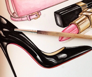 accessories, drawing, and fashion image