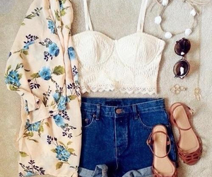plage, summer, and tenue image