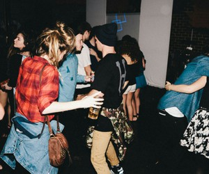 grunge, party, and drink image