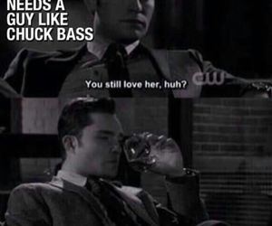 love, chuck bass, and gossip girl image