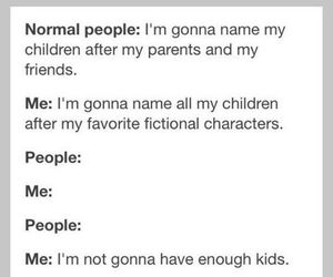 character, children, and fandom image