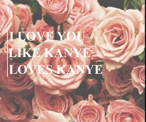 floral, kanye west, and romantic image