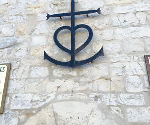 anchor, cross, and heart image