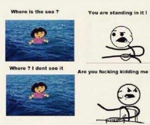 funny, Dora, and lol image