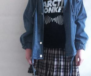 grunge, arctic monkeys, and outfit image