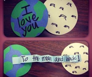 love, diy, and moon image