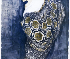 evening coat, blue, and old image