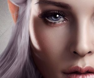 fantasy and elf image