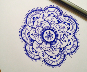 blue, creative, and draw image