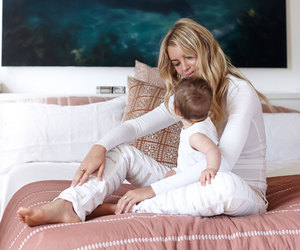 blonde, child, and care image