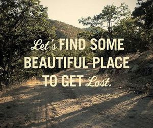 beautiful, quotes, and lost image
