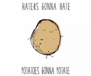 funny, lol, and potatoes image
