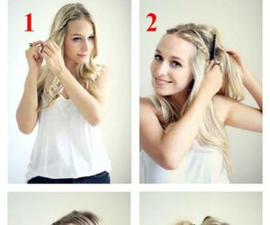 Easy, long hair, and braid image