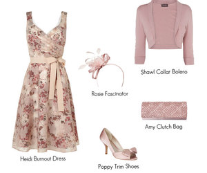 dress, floral dress, and outfit image