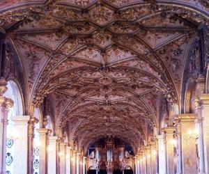 ceiling, church, and copenhagen image